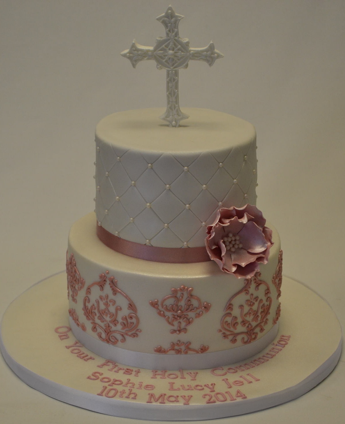Holy Communion Cake 2 Tier