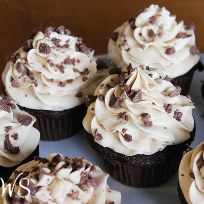 Mocha Espresso Cupcakes with Buttercream