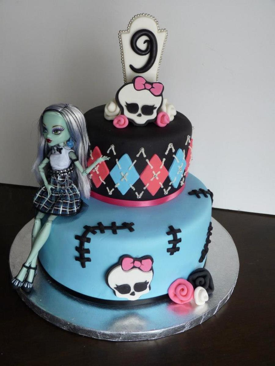 Monster High Birthday Cake Ideas