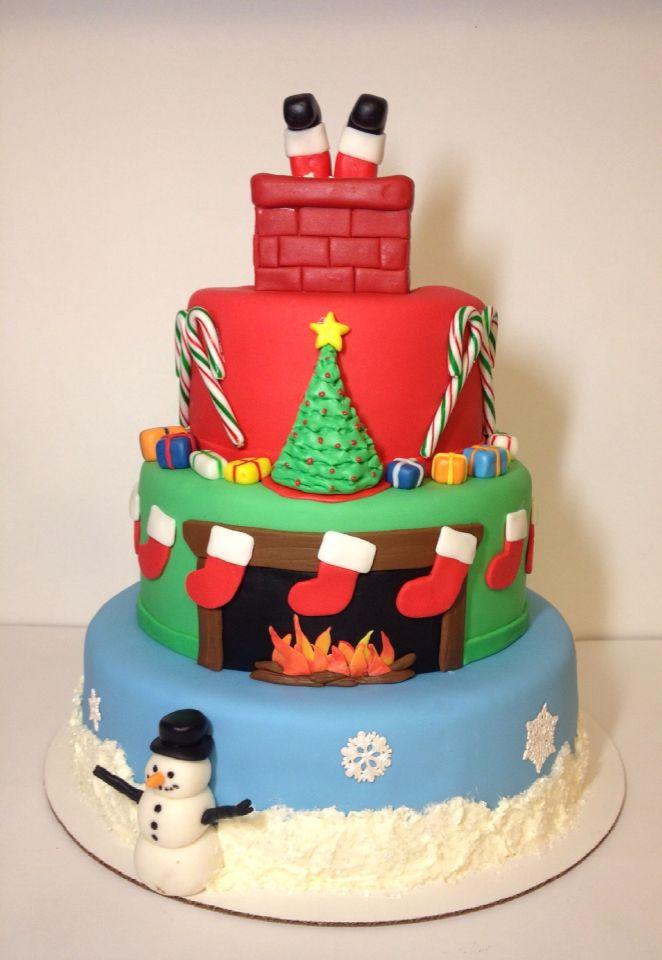 Night Before Christmas Cake