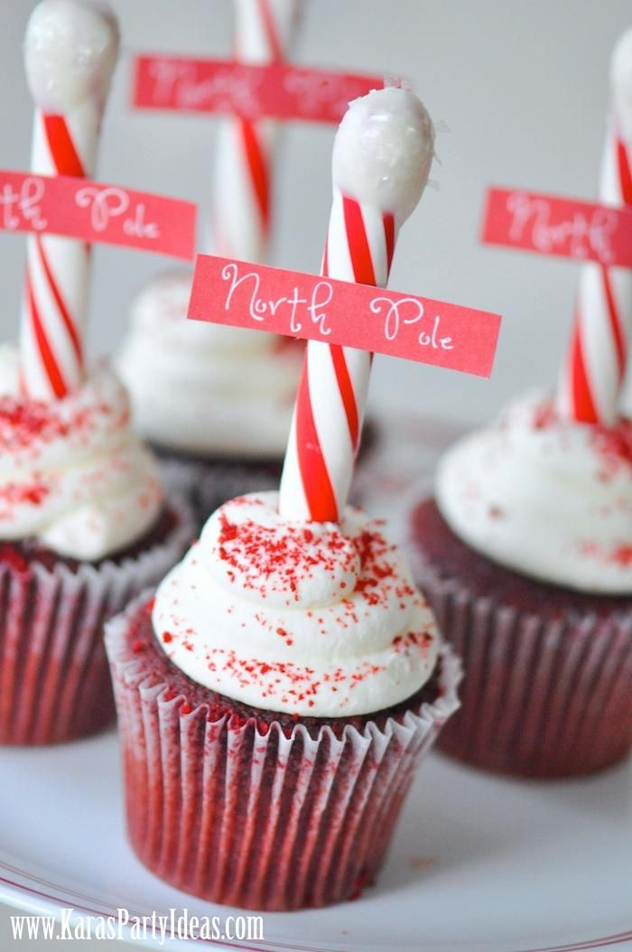 7 Photos of Pole Cupcakes For Party