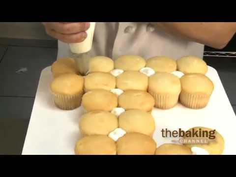 Numeral Cupcake Cakes