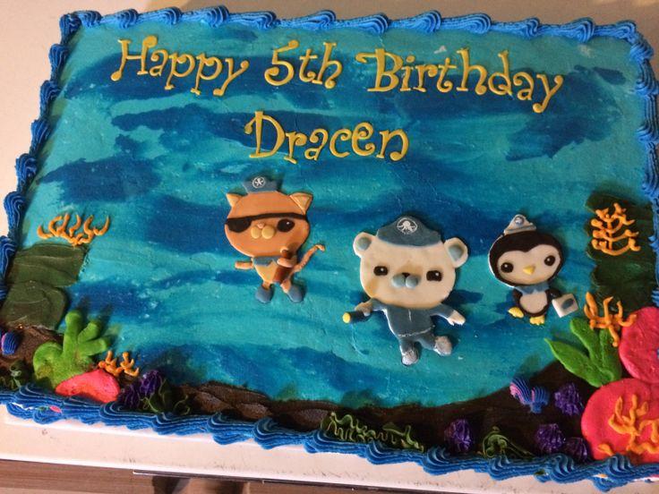 Octonauts Sheet Cake