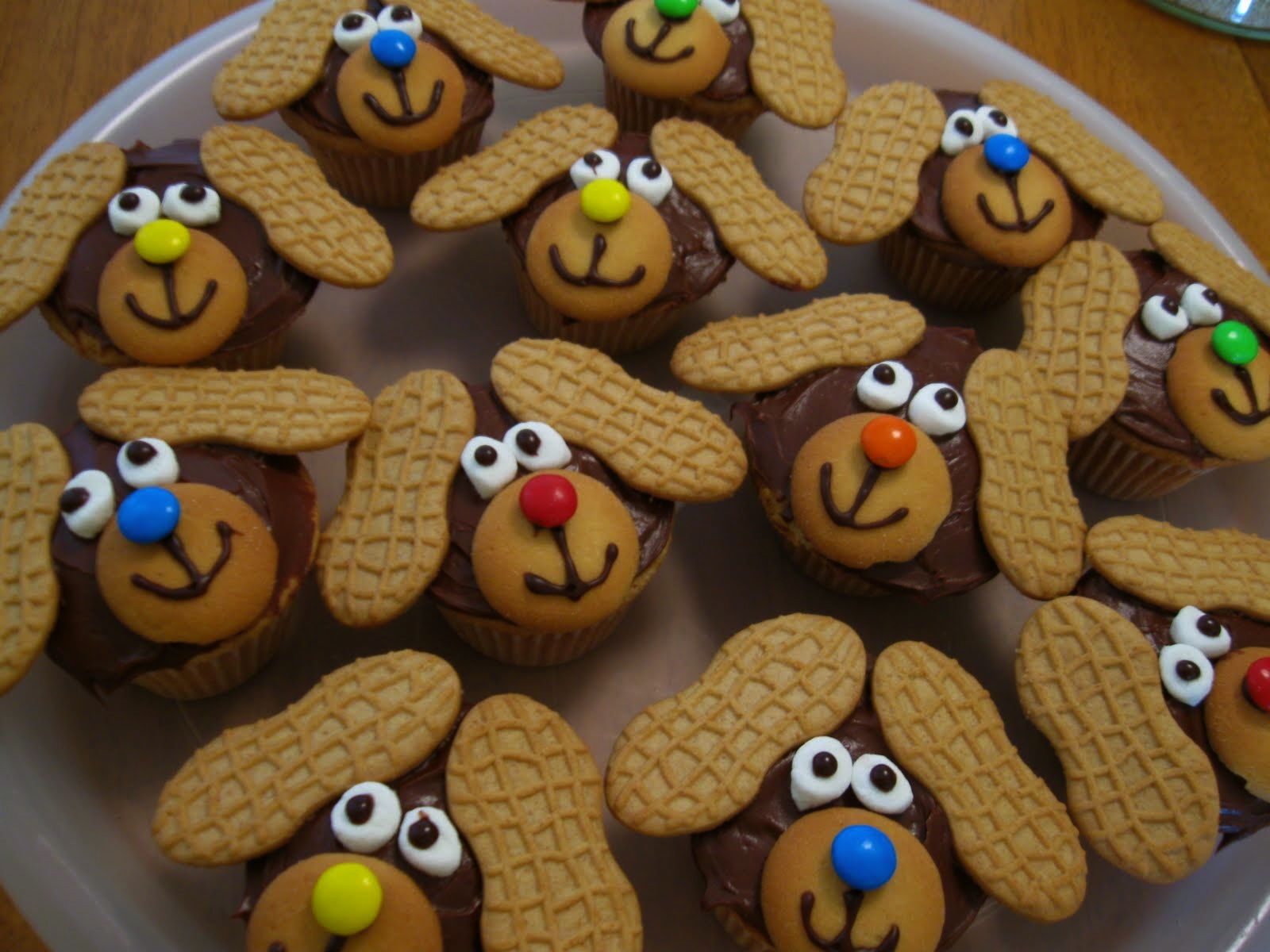 Puppy Dog Cupcake Ideas