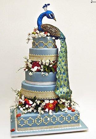 Ron-Ben-Israel-Peacock-Cake