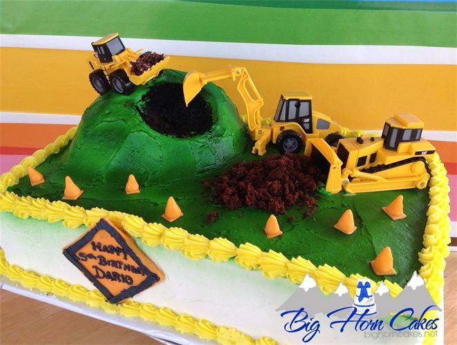 Sheet Cake Construction Site