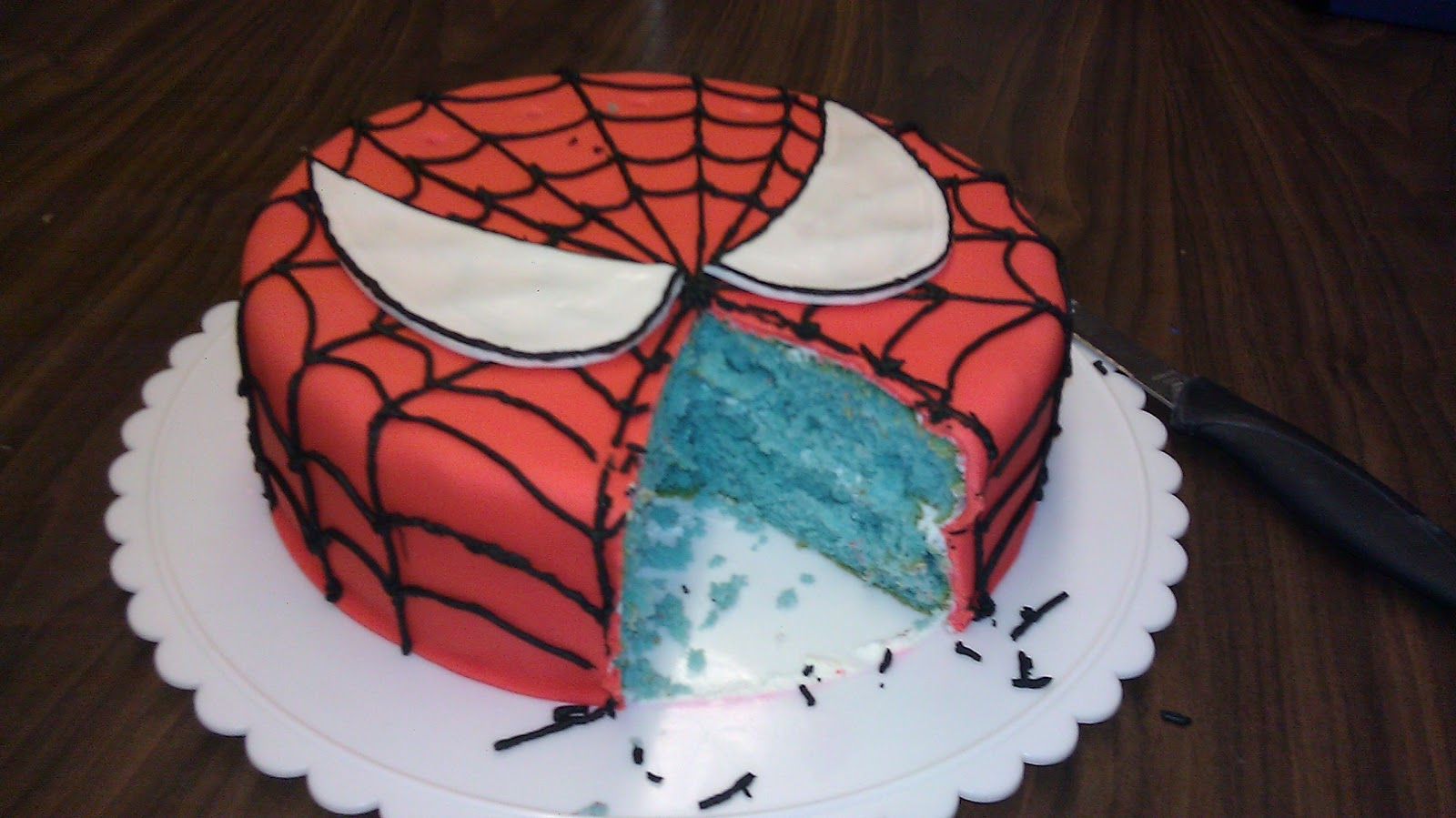 Spider-Man Birthday Cake Ideas