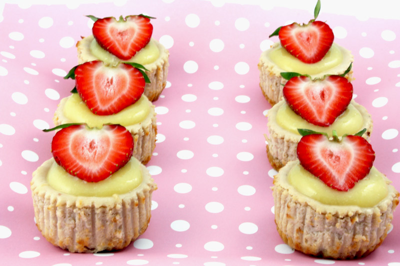 Strawberry Cheesecake Cupcakes Recipe