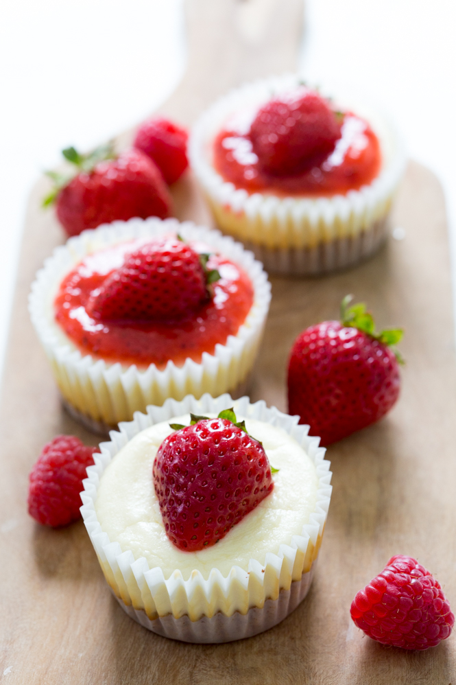 6 Photos of Amazing Strawberry Cheesecake Cupcakes
