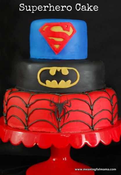 8 Photos of Make A Superhero Cakes