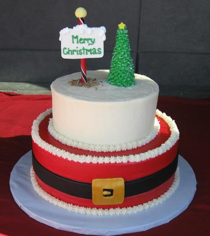 Tiered Christmas Cake Ideas