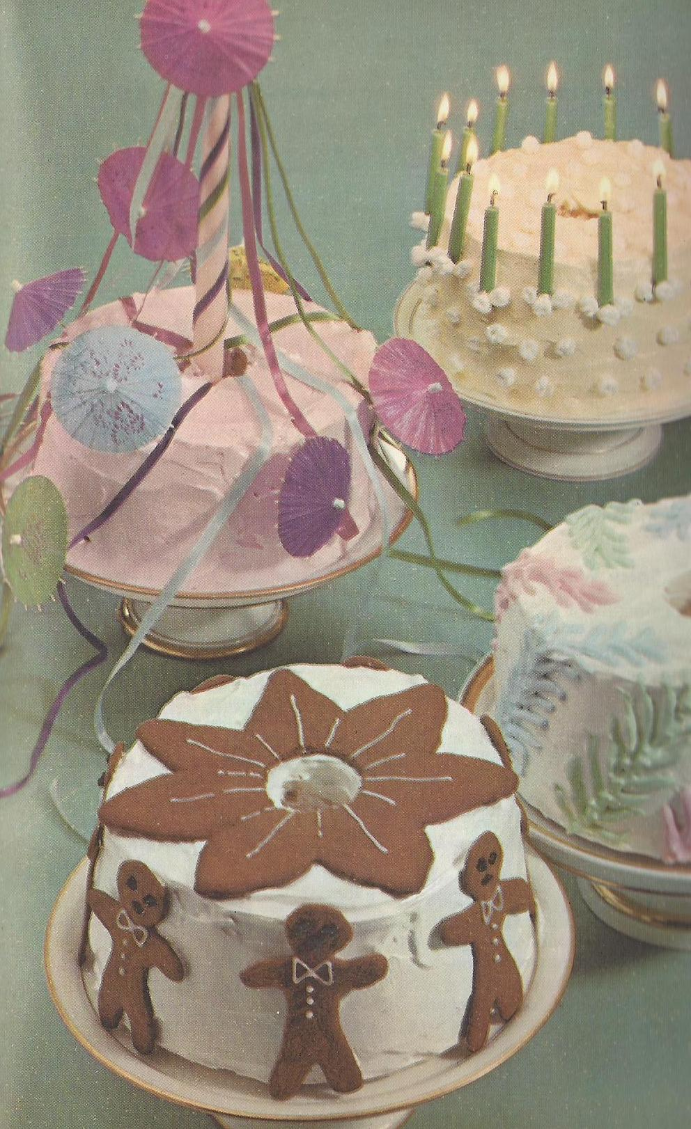 Vintage Cake and Frosting Recipes
