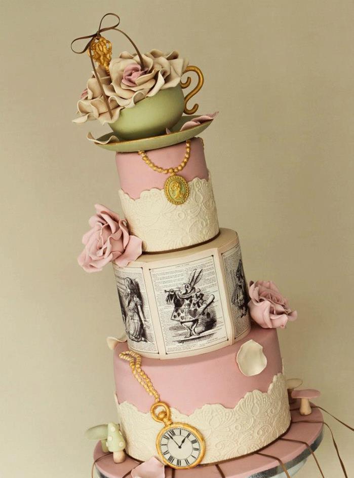 Wedding Alice in Wonderland Party Ideas