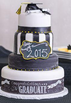 3 Tier Graduation Cake Ideas