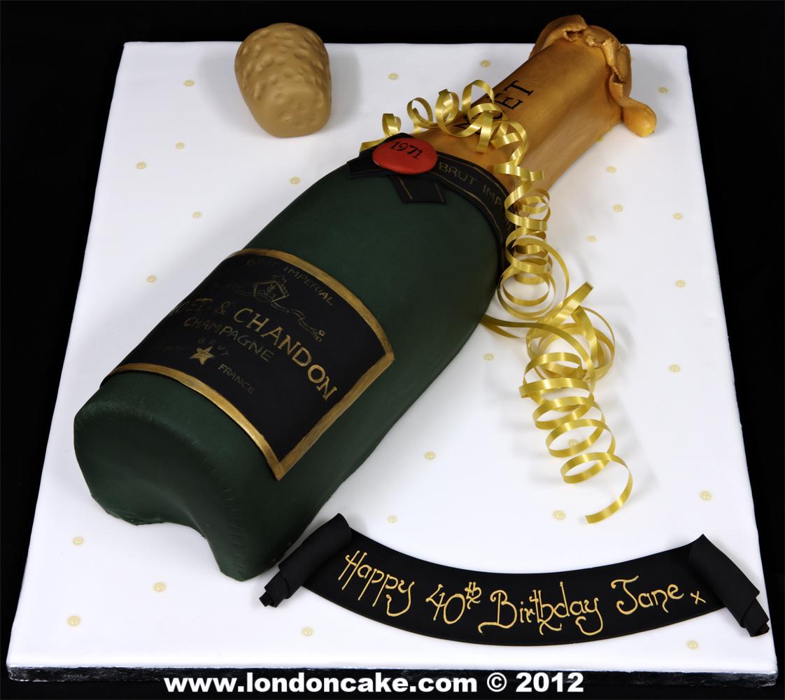 Alcohol Shaped Birthday Cakes