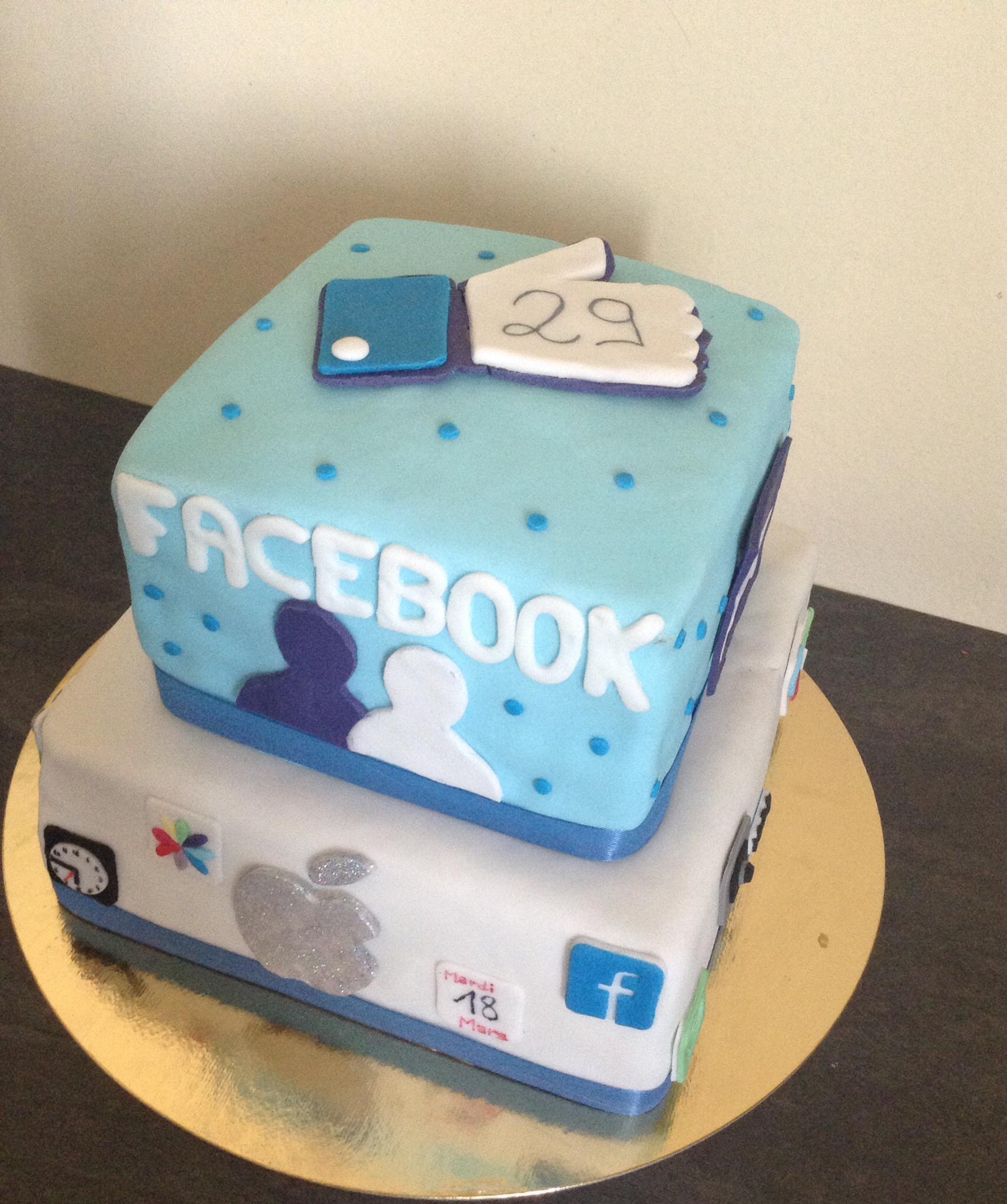 Apple Birthday Cake