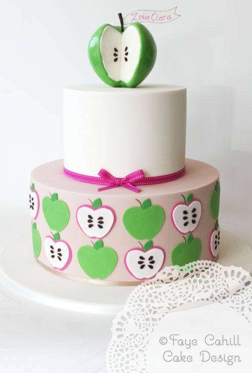Apple of My Eye Birthday Cake