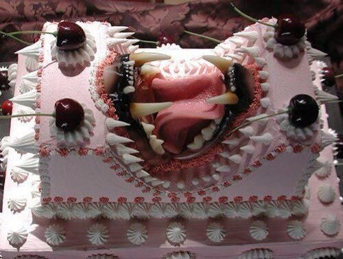 Awesome Scary Birthday Cakes