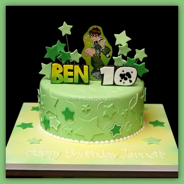 6 Photos of Ben 10 Car Cakes Boy Cakes