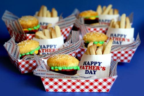 Brownie Burger Cupcakes Sugar Cookie French Fries