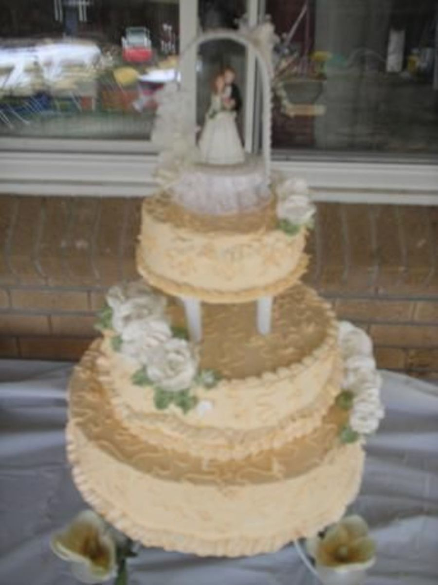 Cakes for 2nd Marriage Wedding