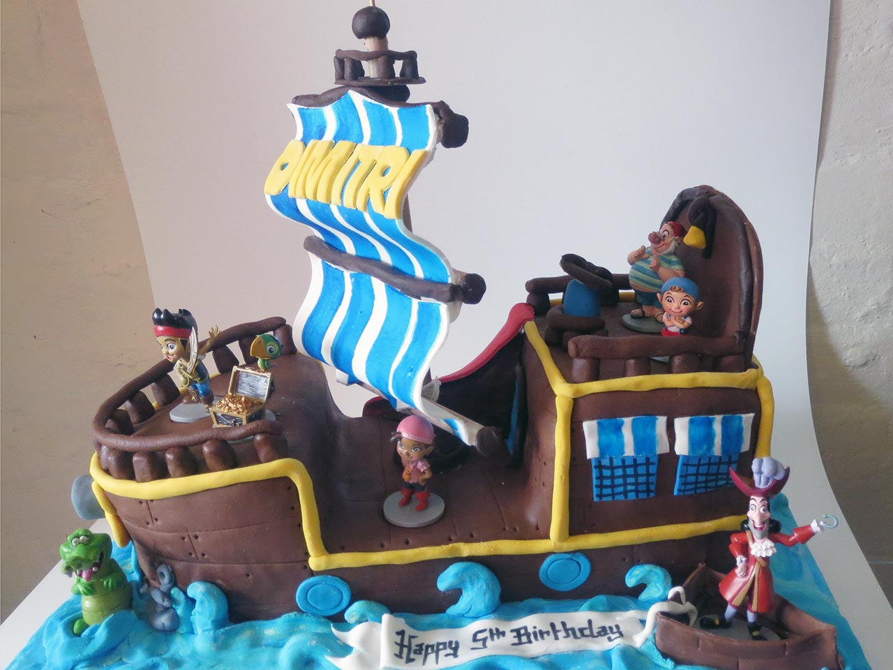 Captain Hook Birthday Cake