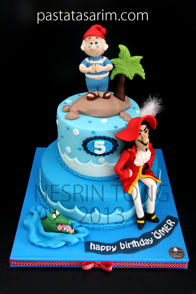 Captain Hook Pirate Cake