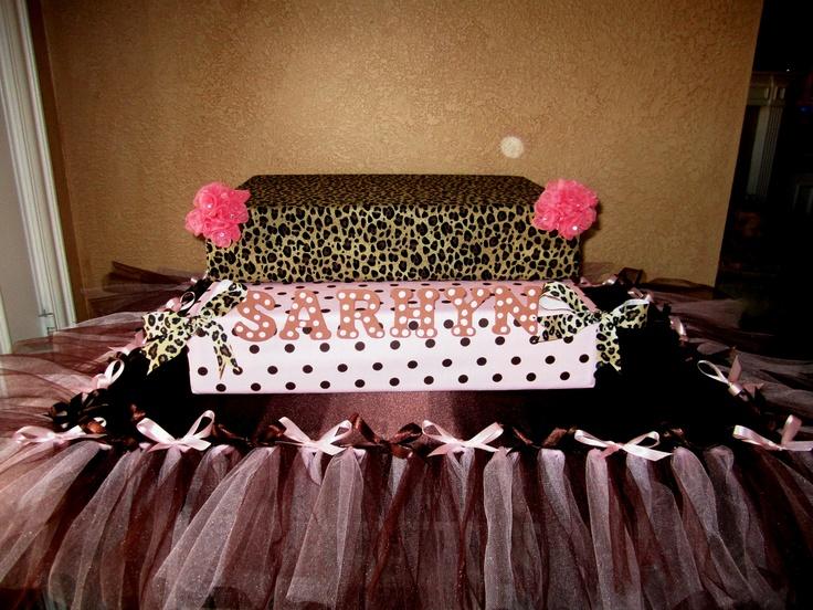 Cheetah Sheet Cake