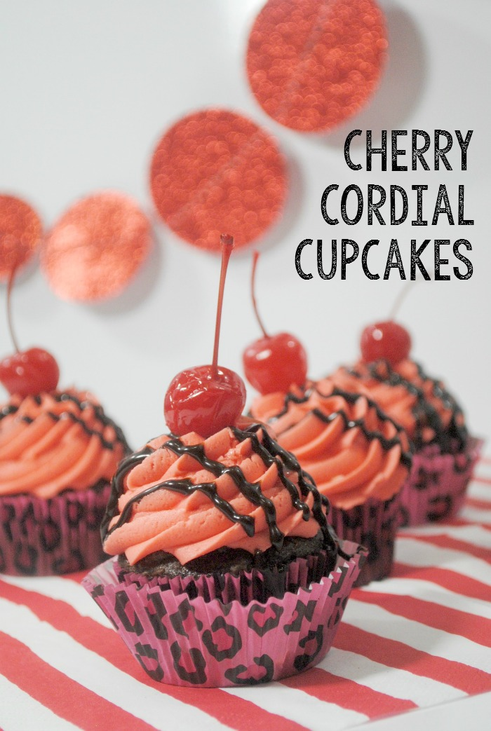 Chocolate Cherry Cupcakes From Scratch