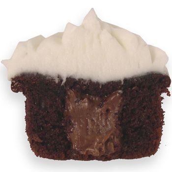 Chocolate Cupcake with Fudge Filling