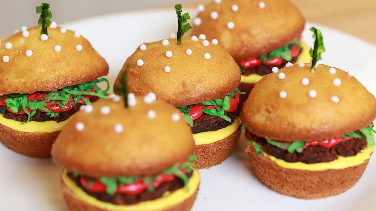 Cupcake Cheeseburgers