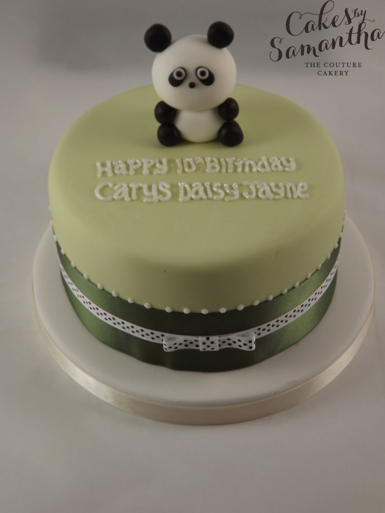 Cute Panda Birthday Cakes