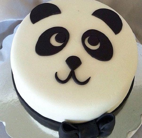 11 Photos of Cute Panda Birthday Small Cakes