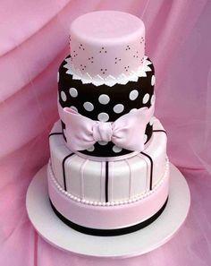 Cute Wedding Cake Pink