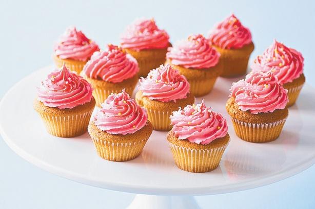 Dairy Free Strawberry Cupcakes