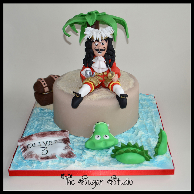 Disney Captain Hook Cake