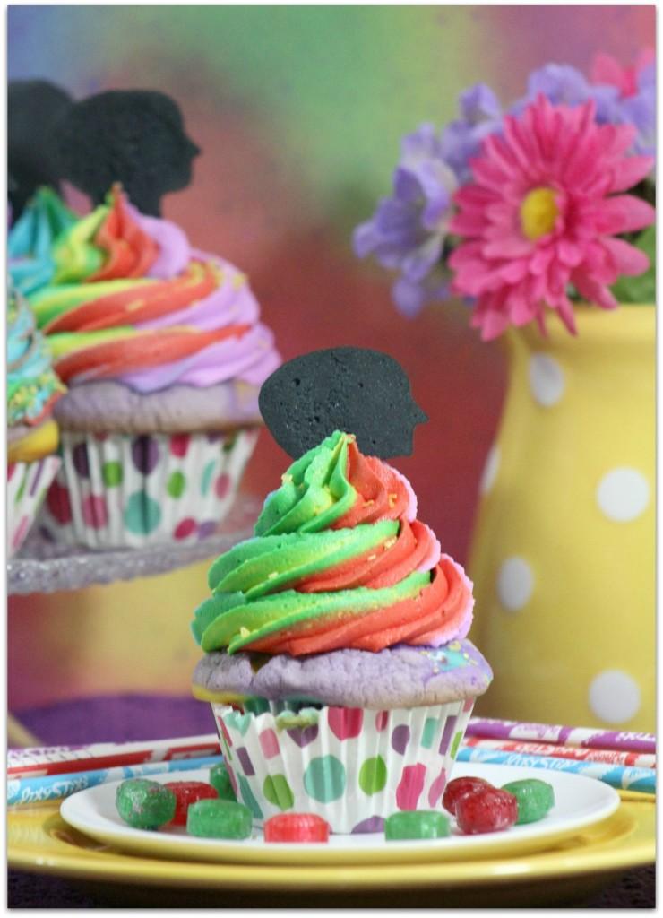 Disney Pixar Inside Out Cupcakes