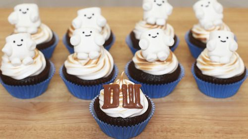 Doctor Who NERDY NUMMIES Cupcakes