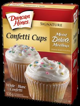 Duncan Hines Cake Mix Cupcakes