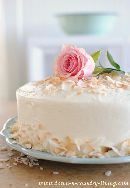 Elegant Vanilla Layer Cake