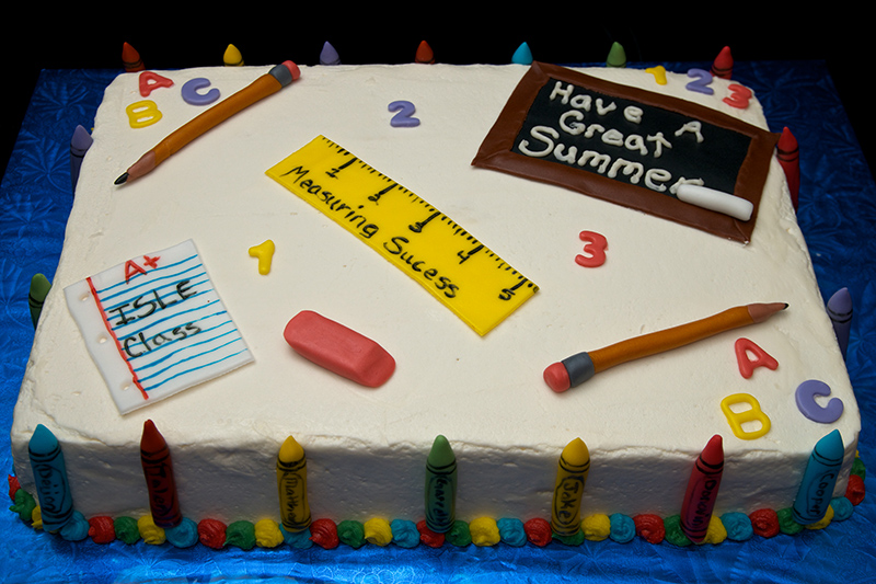 End of School Party Cakes
