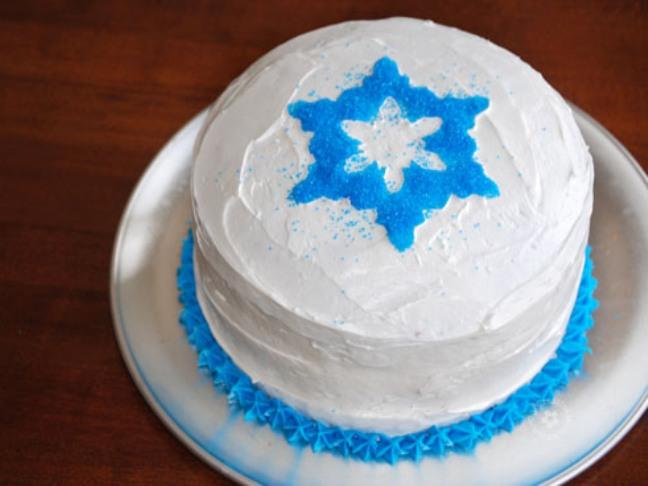 Frozen Birthday Cake Ideas Easy