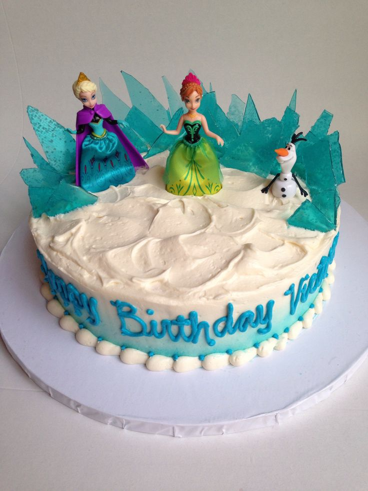Frozen Cake Idea