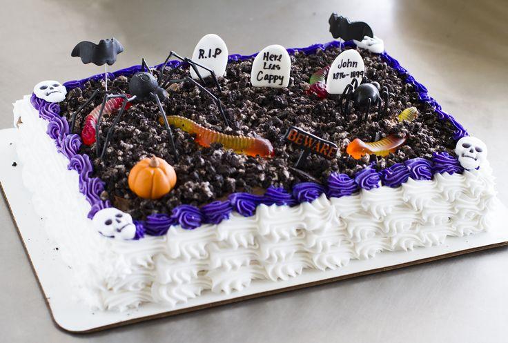 8 Photos of Halloween Sheet Cakes Grey