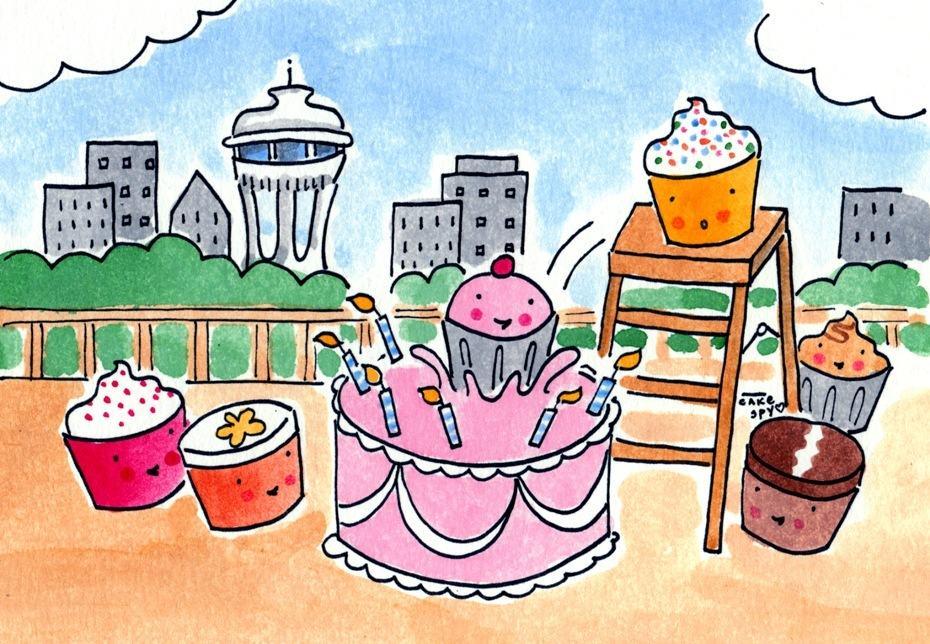 Happy Birthday Cake Seattle