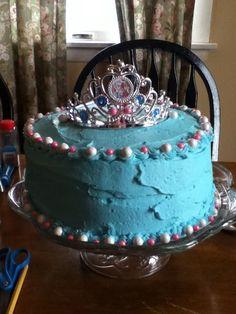 Homemade Birthday Cake Frozen