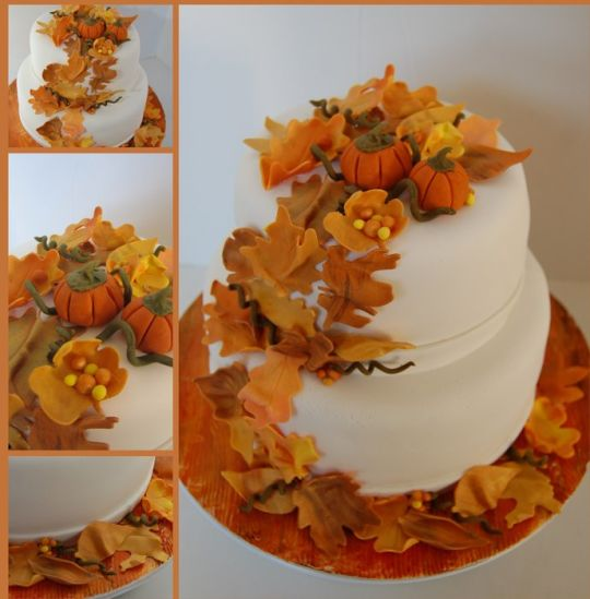 10 Photos of Fall And Thanksgiving Cakes
