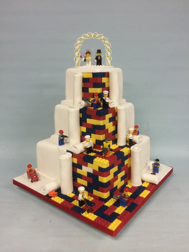 LEGO Wedding Cake Amazing