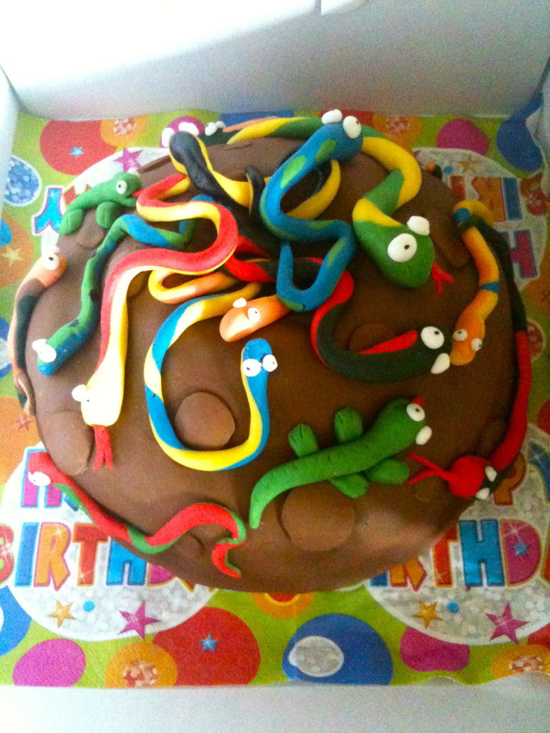 Little Boy Birthday Cake Idea