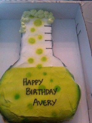 Mad Science Cake Cupcakes